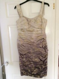 Ispirato Mother of the Bride outfit - dress and jacket size 10 excellent condition