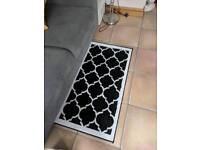 Black & White Geometric Rug