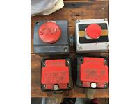 X4 emergency stop buttons