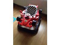 F1 style baby walker