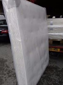 Luxurious 4ft6 double mattress, Cashmere Memory Collection, BARGAIN! FREE DELIVERY