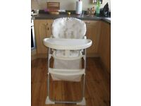 Mothercare folding highchair - Eexcellent condition, very clean