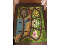 Paw patrol road map with toy