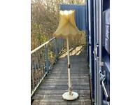 Floor lamp with nice Silk shade