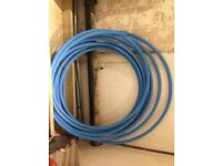 Blue mdpe 32mm pipe