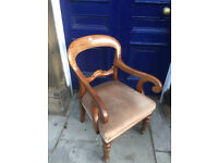 Solid Wooden Carver - free local delivery feel free to view excellent chair , very comfortable