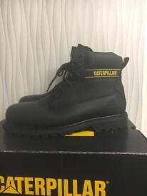 Caterpillar steel toe cap boots UK10 BNIB