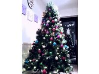 Hi There, I have Christmas Tree 6FT with 250 leds inside plus all christmas decoration