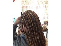 EXPERIENCED HAIRDRESSER/HAIRSTYLIST (BRAIDS, WEAVES, TWISTS CROTCHET).