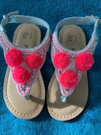 Girls sandals size 9