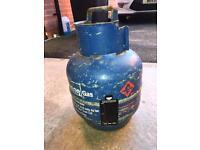Gas bottle and regulator