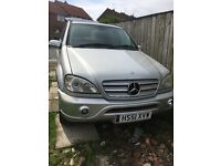 Mercedes ml 300 automatic spares or repairs