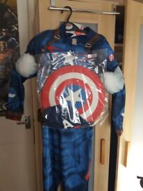 Captain america costume new with tags