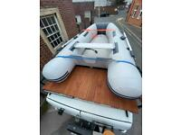 Inflatable Dinghy Boat with 3.5hp Mercury outboard 4 Stroke ***£995