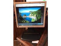 """Hp1740 17"""" LCD monitor"""