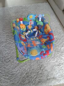 Fisher price bouncer with toddler seat function