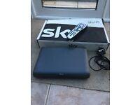 Sky HD box with remote control