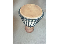 Djembe drum with bag