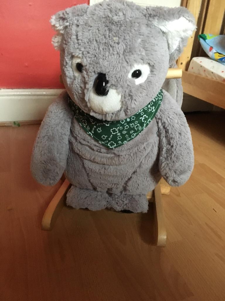 Koala baby rocker