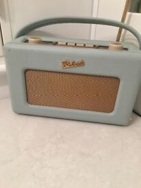 Roberts radio DAB pastel blue