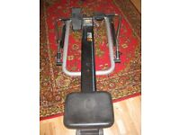 rowing machine.... excercise off all those Xmas pounds! has lap counter!