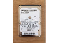 """Samsung Spinpoint 500GB 2.5"""" Internal HDD (ST500LM012) SATA CHINGFORD"""