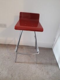 Breakfast Bar Stool with foot rest
