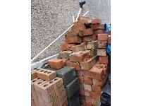 Reclaimed Red Victorian Bricks