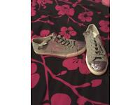 Juicy couture shoes, trainers, plimsoles size 4 worn once
