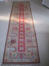 Stunning Runner Rug 31 inches x 116 inches