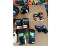 Assorted boxing and kick boxing bits