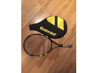 """Preowned Babolat Tennis Racket Size 25"""" , Age 9 to 10"""