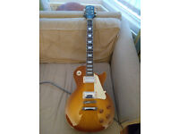 epiphone Les Paul standard (Gibson pickups)
