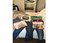 Bundle mans clothes medium