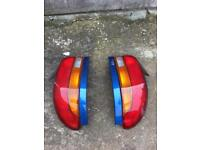 Subaru Impreza rear lights
