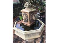 Stone fountain antique