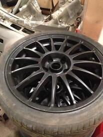 "17"" team dynamics alloy wheels 5x110 pcd"
