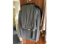 Marks and Spencers mens suit NEW (unworn) with TWO pairs of trousers.