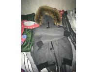 French real fur coat brand new
