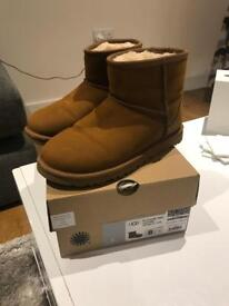 Genuine UGG Boots leather Brand New size UK 4.5