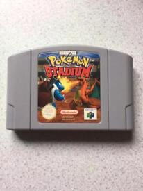 Nintendo 64 Pokemon game. N64