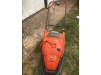 Flymo easy reel 330 lawn mower good working order.