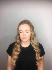Makeup artist and hair