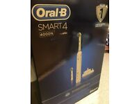 Oral B Smart 4 4000N Braun Electric Toothbrush