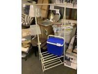 Large white shoe rack only £35 - very stylish design