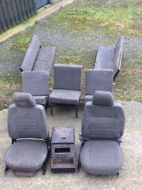 Land Rover 110 car seat set
