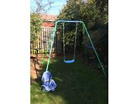 2 in 1 swing set