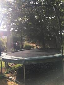 Jump King Trampoline 12ft - net included