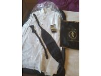For sale Hector james designer tuxedo suit with all accesories