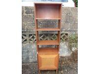A Freestanding Bookcase/Cupboard Unit
